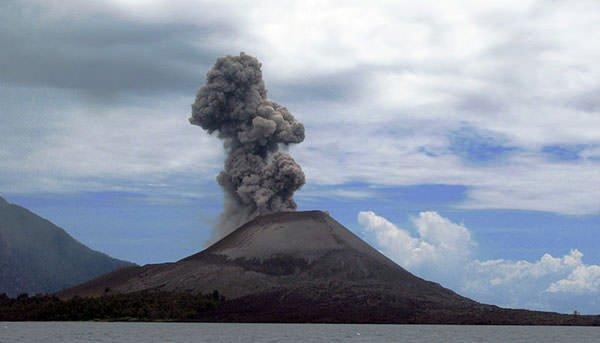 Anak Krakatau in 2008