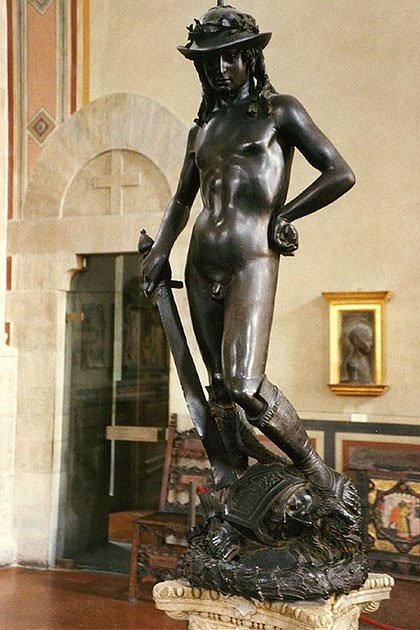 David (1440s) - Donatello