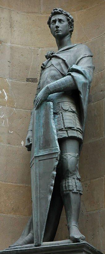 Saint George (1417) - Donatello