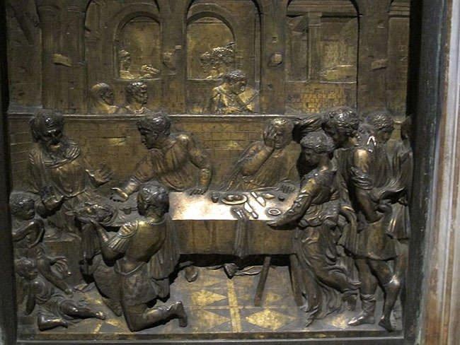 The Feast of Herod (1427) - Donatello