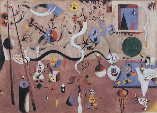 The Harlequin's Carnival (1925) - Joan Miro