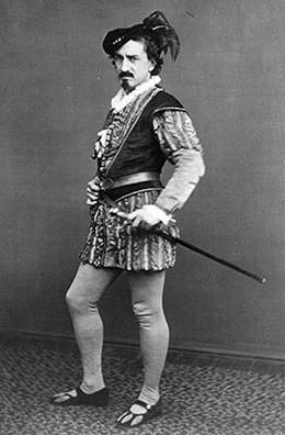 Edwin Booth as Iago in Othello