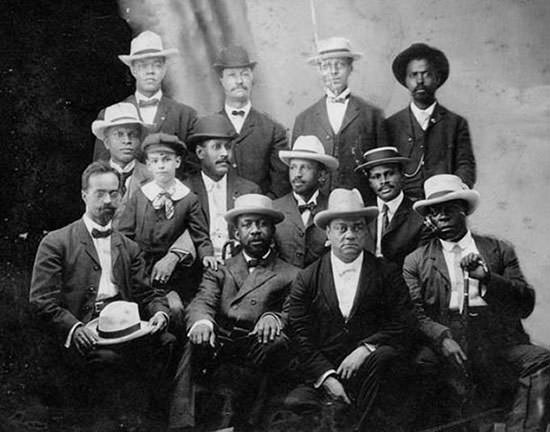 Founders of the Niagara Movement in 1905