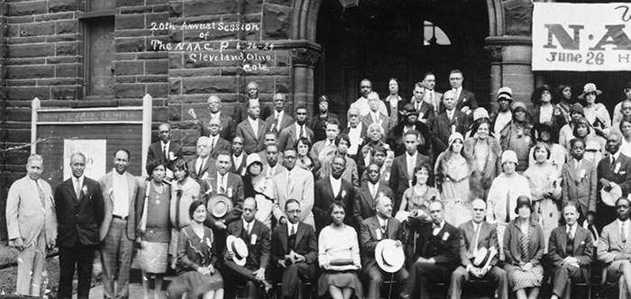 Members of the NAACP in 1929
