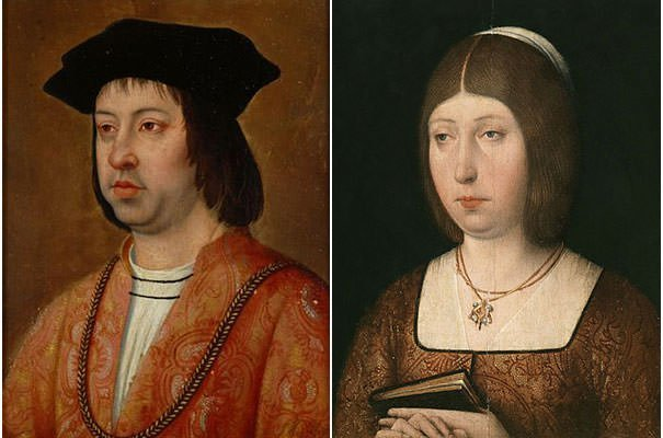 Ferdinand II of Aragon and Isabella I of Castile