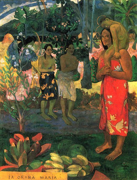 Ia Orana Maria (1891) - Paul Gauguin