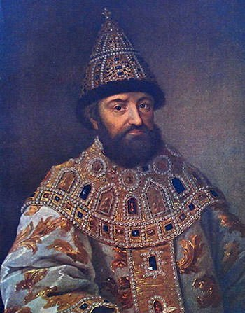 Portrait of Michael I Romanov