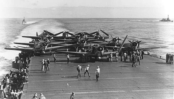 U.S. Navy Torpedo Squadron Six during the Battle of Midway