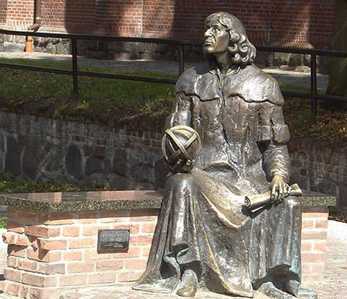 Nicolaus Copernicus monument in Allenstein
