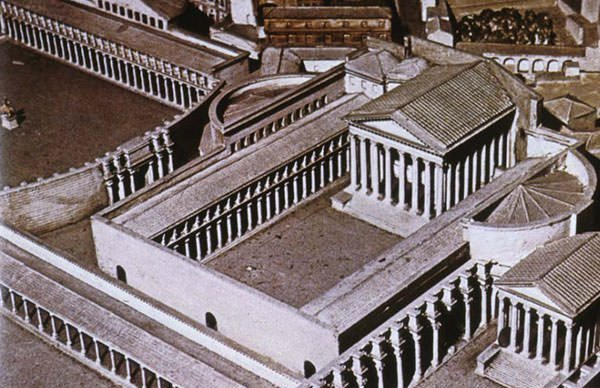 Forum of Augustus Reconstruction