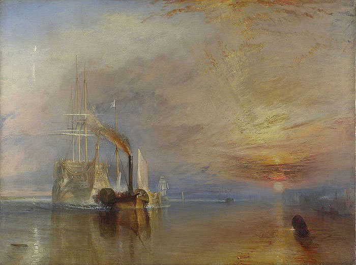 The Fighting Temeraire (1839) - J.M.W. Turner