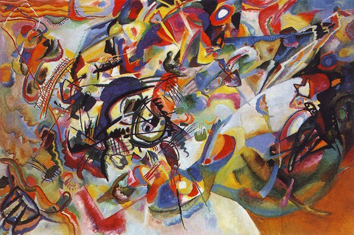 Composition VII (1913) - Kandinsky Wassily