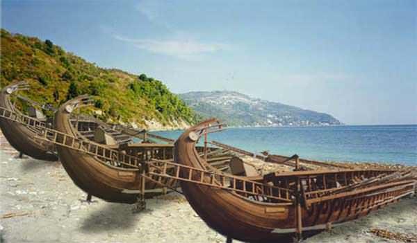 Persian ships
