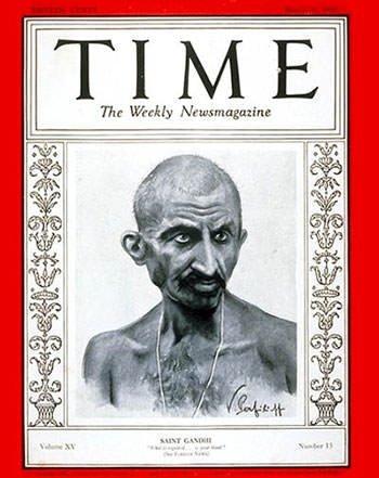 Mahatma Gandhi on TIME Magazine
