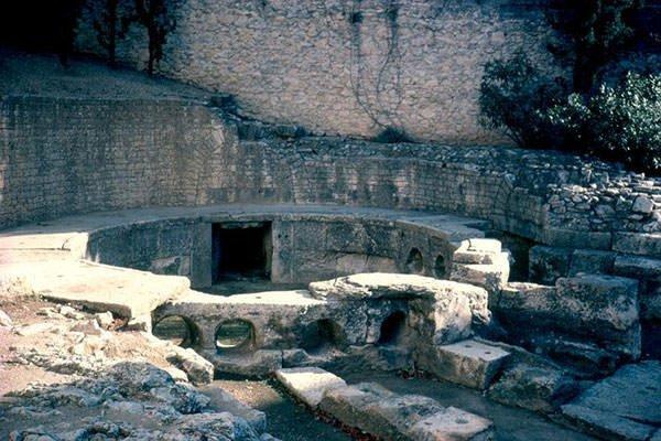 Castellum divisorum at Nimes