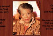 Maya Angelou Famous Poems Featured