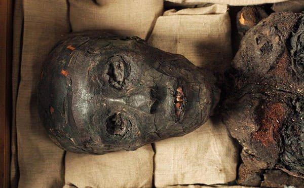 Mummy of King Tutankhamun