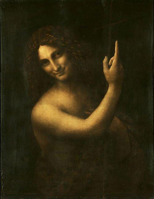 Saint John the Baptist (1516) - Leonardo da Vinci