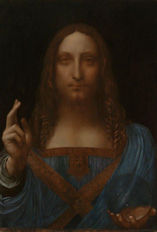 Salvator Mundi (1500) - Leonardo da Vinci