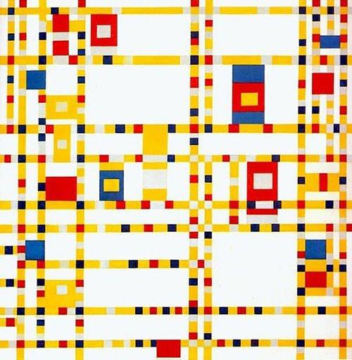 Broadway Boogie Woogie (1943) - Piet Mondrian