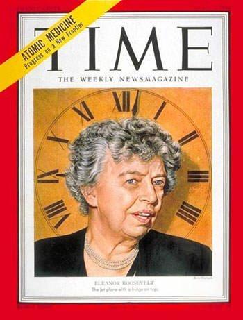 Eleanor Roosevelt on TIME Magazine