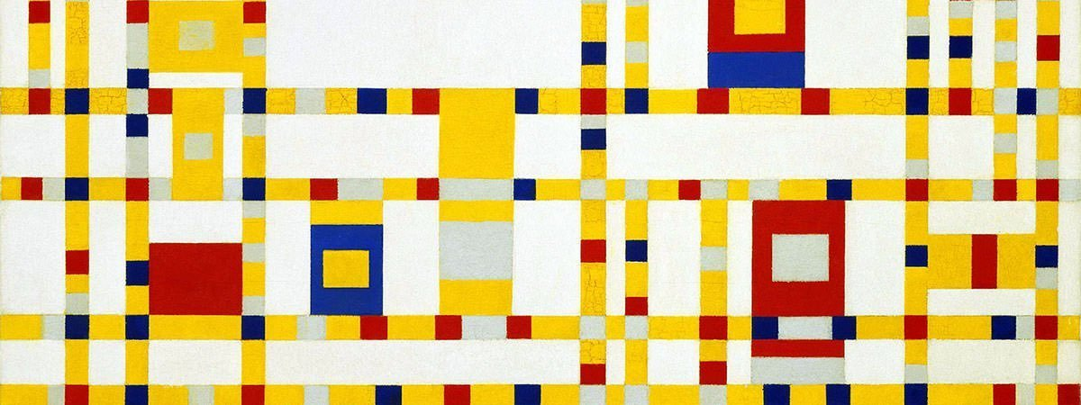 Piet Mondrian Famous Paintings Featured