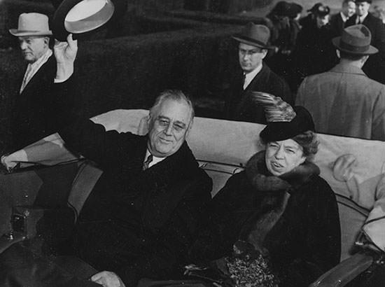 Franklin D. Roosevelt and Eleanor Roosevelt