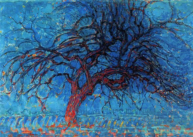 The Red Tree (1910) - Piet Mondrian