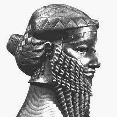 Bronze head of an Akkadian ruler