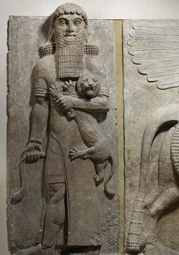Depiction of Gilgamesh