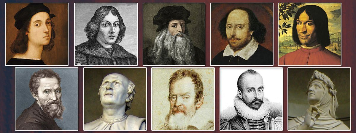 Famous Renaissance People Featured