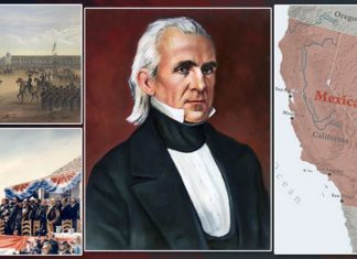 James K Polk Accomplishments Featured