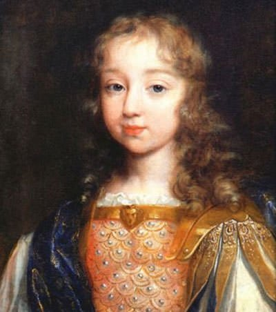 Louis XIV at the age of five