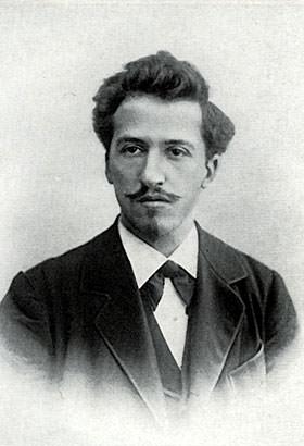 Piet Mondrian in 1899