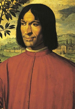 Portrait of Lorenzo de Medici