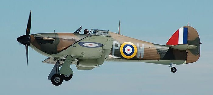 Hawker Hurricane R4118