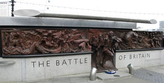 The Battle of Britain Monument in London