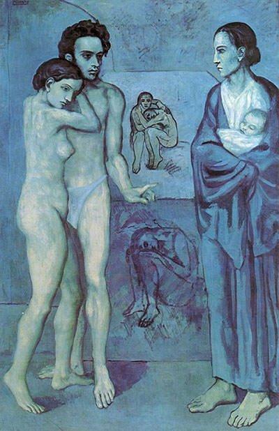 La Vie (1903) - Pablo Picasso