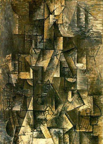 Ma Jolie (1912) - Pablo Picasso