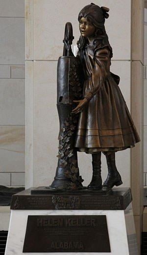 Statue of Helen Keller
