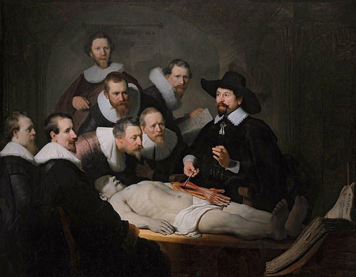 The Anatomy Lesson of Dr. Nicolaes Tulp (1632) - Rembrandt van Rijn