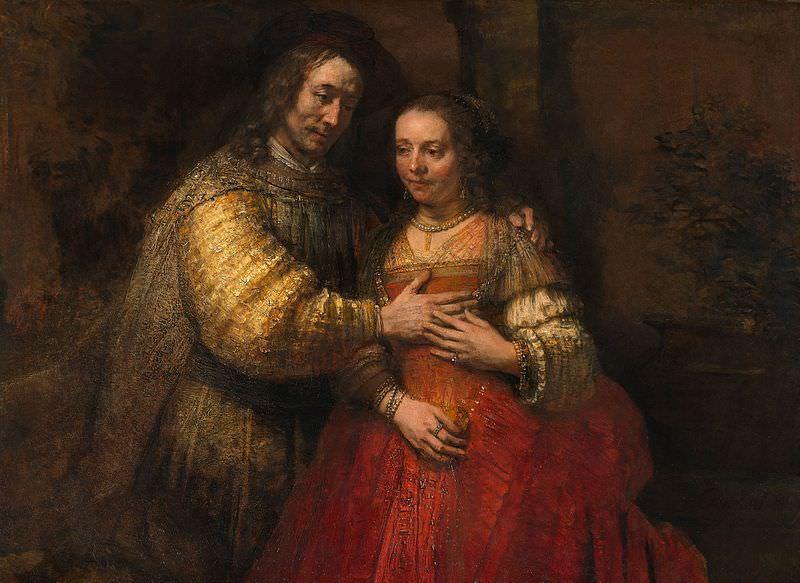 The Jewish Bride (1667) - Rembrandt van Rijn