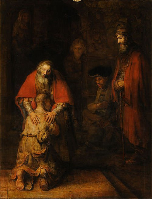 The Return of the Prodigal Son (1669) - Rembrandt van Rijn