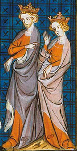 Henry II and Eleanor of Aquitaine