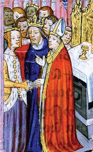 Marriage of Eleanor of Aquitaine and Louis VII