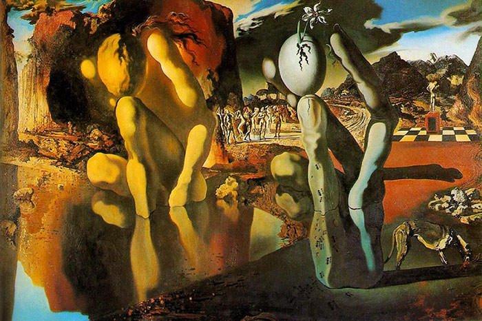 Metamorphosis of Narcissus (1937) - Salvador Dali