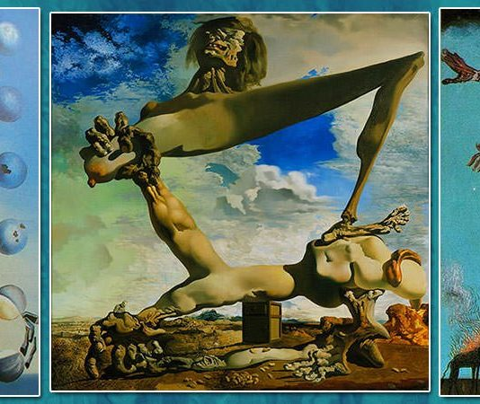 Salvador Dali Famous Paintings Featured