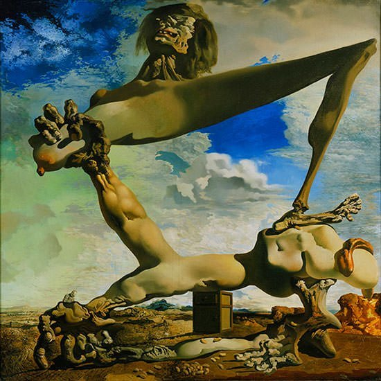 Soft Construction with Boiled Beans (1936) - Salvador Dali