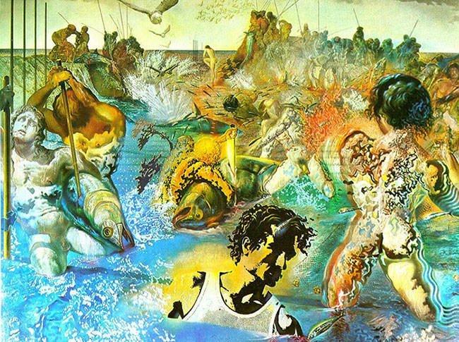 Tuna Fishing (1967) - Salvador Dali