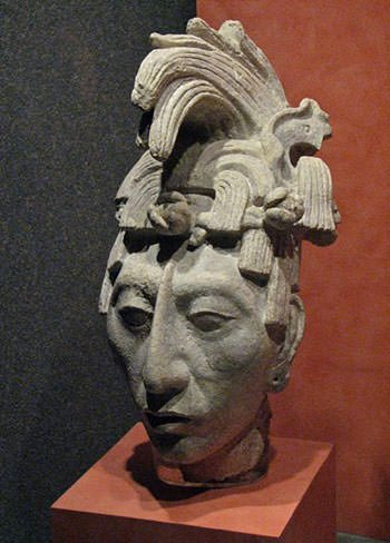 Sculpture of Pacal the Great